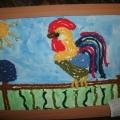 Детское творчество «Петушок— Золотой гребешок»