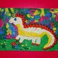 Пластилиновая живопись «Дракончик»