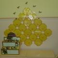 Оформление приёмной группы «Пчёлки»