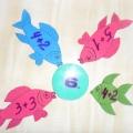 Дидактическая игра по математике для подготовительной группы «Накорми рыбку»