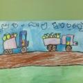 «Урожай». Рисунки детей старшей логопедической группы