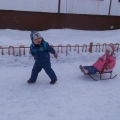 Зимние забавы на прогулках