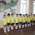 Пионербол— одна из любимых игр старших дошкольников.