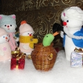 Наши снеговички победили в конкурсе.