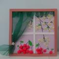 Мое творчество «Расцвела под окошком белоснежная вишня…»