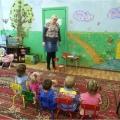Конспект открытого занятия по экологии с применением ИКТ в 1 ясельной группе «Маленькая капелька в гостях у малышей»