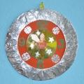 «Новогодние часики»— поделка для дочки в садик