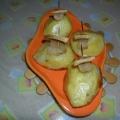 «Алые паруса»— картофельные кораблики с сальцом!