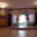 Оформление зала к выпускному балу