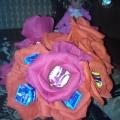 Цветы из конфет к Восьмому марта