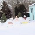 Зимняя сказка в нашем саду.