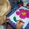 Цветы в детском творчестве
