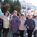 Фотоотчёт о первомайском шествии под девизом: «Достойный труд— достойная зарплата!»