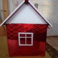 Поделка «Зимний домик»