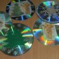 Новогодние украшения для группы на дисках