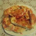 Десерт «Чебуреки с вишней»