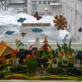 «Посадили огород, посмотрите, что растет!» Чудо-огород на окне в детском саду.