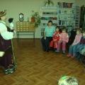 «Русский народный костюм»— экскурсия в библиотеку.