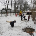 А у нас выпал первый снег!