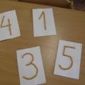 Игра «Найди на ощупь цифру»