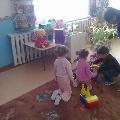 Интегрированное занятие по теме: Мебель для куклы.