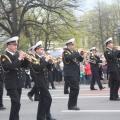 Праздничное шествие 9 мая в Санкт-Петербурге