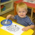 Нетрадиционная техника в изобразительной деятельности с детьми раннего возраста «Рисуем вилкой»
