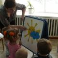 «В гости к солнышку» Интегрированное занятие по экологии и рисованию в первой младшей группе.