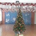 Оформление зала к Новому году. «Новогодние чудеса!»
