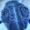 Мое увлечение. Люблю плести косы!