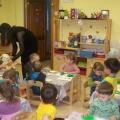 Конспект занятия по сенсорному развитию детей в первой младшей группе