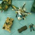 Выставка игрушечной военной техники