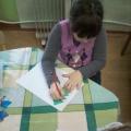 «Снежная картина»— нетрадиционная техника рисования.