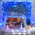 «Новогодняя вечерка у Коковани и Дарёнки» (по мотивам сказа Бажова «Серебряное копытце»). Новогоднее оформление группы