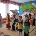 Фотоотчёт об осеннем празднике «Сказка про непослушного огурчика»