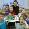 «Новогодняя пора». План-конспект занятия по изодеятельности (аппликация) с детьми дошкольного возраста