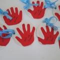Привет из детства. Подарки для пап детскими руками. Тестопластика.