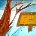 Дидактическая игра по экологии «Кто прилетел к кормушке?»