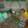 Конспект коррекционного занятия по конструированию для детей с нарушением зрения (средняя группа).