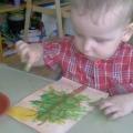 Конспект открытого комплексного занятия по изотерапии с детьми 2–2,5 лет «Осенний букет»