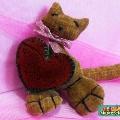 День святого Валентина— подарки своими руками.