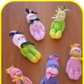 Мастер-класс «Куколка из детских носков» (подарок для мамы)
