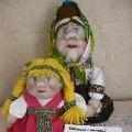 Очень бабушку люблю. Куклы из капрона