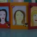 Портреты мам к 8 марта.