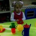 Занятие с малышами по ознакомлению с окружающим и развитию речи на тему «Сварим для куклы компот из фруктов».
