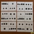 Дидактическая игра «Лото с геометрическими фигурами».