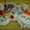Выставка работ «Лучший Дед Мороз и Снегурочка»
