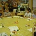 Детские поделки из пластилина и пластмассового яичка