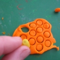 Пластилиновое конфетти. Мини МК по пластилинографии «Подводное царство».