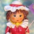 Тестопластика: «Кукла-барышня»
